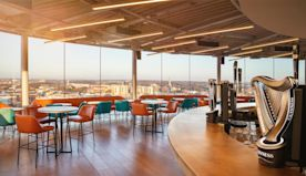 Guinness Opens Revamped Gravity Bar Amid News Dublin's St. Patrick's Day Parade Canceled Due To Coronavirus