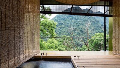 隱身森林泡湯新景點!馥森阪治森林原民美食療癒聖地
