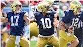 Examining Notre Dame's Trio of Quarterbacks: You make the Call