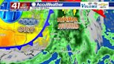 Scattered showers expected once again as warm front moves through GA - 41NBC News   WMGT-DT