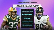 Should I pick Aaron Jones or James Conner in my fantasy football draft?