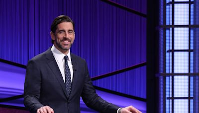 Aaron Rodgers shows 'Reno 911!' a little love on Night 6 as 'Jeopardy!' guest host