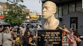 George Floyd statues unveiled as cities celebrate Juneteenth