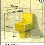 """不銹鋼安全扶手-11 (1.2""""*1.2mm)75cm*76cm扶手欄杆 衛浴設備 運費另問"""