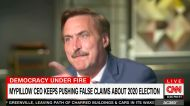 Mike Lindell loses it when confronted with facts in bizarre interview