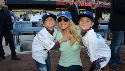Britney Spears Just Gave a Rare Update on How Her Sons Are Doing