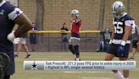 Should Cowboys play Dak Prescott in '21 preseason? 'Inside Training Camp Live'
