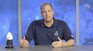 NASA officials hold news conference following historic splashdown