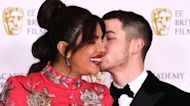 Priyanka Chopra Jonas & Nick Jonas Pack On The PDA At 2021 BAFTAs