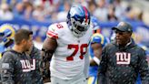 Giants place Andrew Thomas on IR with ankle injury