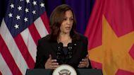 U.S. will 'speak up' on South China Sea: Harris