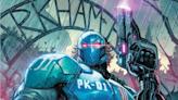 Batman: Secret Files Writer Ed Brisson Reveals Peacekeeper-01's Epic Lore