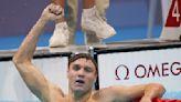 Olympics-Swimming-American Finke wins men's 800m freestyle