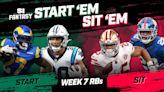 Start 'Em, Sit 'Em Week 7: Running Backs