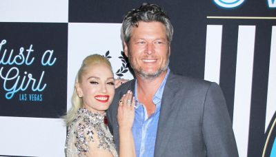 Gwen Stefani Shared Such an Intimate Pic of Blake Shelton Down on One Knee a Year After His Proposal
