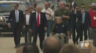 Trump Joins Texas Gov. Abbott, Law Enforcement Officials To Talk Border Security, Tour Unfinished Wall
