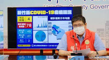 新竹縣內接種疫苗後14天內猝死 發10萬慰問金