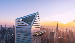 You Can Now Scale the Side of a NYC Skyscraper — and Celebrate With a Glass of Champagne at the Top