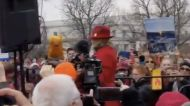 'We're Building an Army, Folks!' Jane Fonda Addresses Crowd at Washington Climate Protest