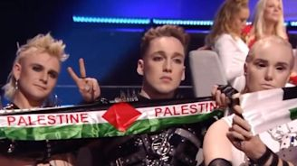 Eurovision 2019: Iceland entry may be punished for displaying Palestinian flags during count