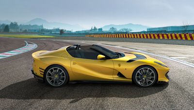 The Latest Ferrari Superfast Variant, the 819 HP Competizione, Will Come in a Coupé or Drop-Top