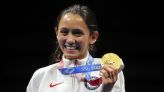 Olympics-Fencing-US' Kiefer, Frenchman Cannone topple favourites to take gold