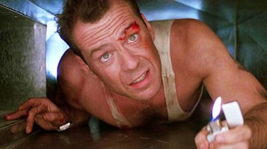 Bruce Willis teases new 'Die Hard'... but it's just an advert for car batteries
