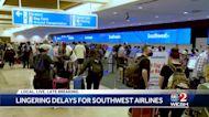 Southwest Airlines delays linger