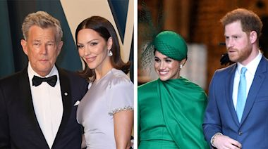 Meghan Markle & Prince Harry Were Just Spotted on a Double Date with Pregnant Pal Katharine McPhee and Husband David Foster