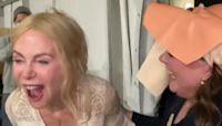 Melissa McCarthy Pranks Nicole Kidman In Old Man's Mask: 'I Was Scared'