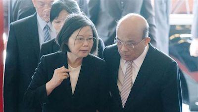 蔡英文、蘇貞昌最新民調雙跌 正妹議員爆是他害的
