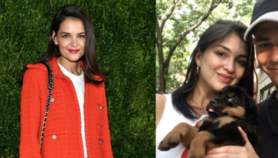 Katie Holmes' New Boyfriend Emilio Vitolo Allegedly Dumped His Fiancée Via Text After Being Spotted With Katie