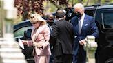 Joe and Jill Biden Attend Confirmation of Grandson Hunter Biden
