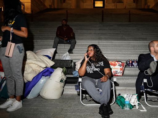 'I know what it feels like': For Rep. Cori Bush, fighting to extend the eviction moratorium is personal