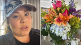 Teen Mom Kailyn shares photo of flowers after she 'canceled' a date with new man