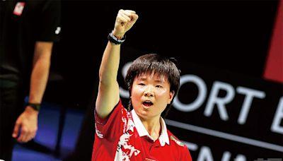 逆轉日本隊收獲第15冠 國羽女隊讓尤伯盃「回家」