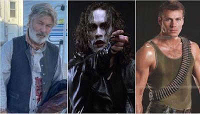 Alec Baldwin y otros accidentes mortales en el set de rodaje: Brandon Lee, Jon-Erik Hexum...