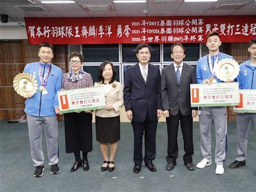 土銀羽球隊創佳績 選手朝奧運路邁進