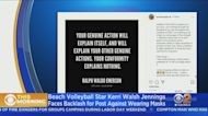 Volleyball Star Kerri Walsh Jennings Defends, Then Apologizes For Anti-Mask Stance