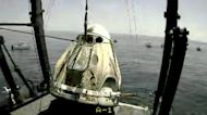 SpaceX 'Capsule Endeavor' Splashes Down In Gulf of Mexico