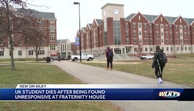 UK student dies after being found unresponsive at fraternity