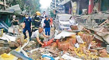湖北集貿市場氣爆 12死138傷 - 東方日報