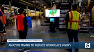 Amazon touts safety at Lebanon warehouse, trying to reduce injuries