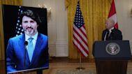 Biden, Trudeau discuss Keystone XL cancellation in first bilateral meeting