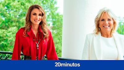 La elegancia de Rania de Jordania y Jill Biden durante su reunión y otras fotos de la realeza internacional