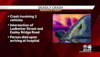 Greenville County deadly crash