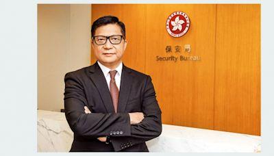 鄧炳強:預報旅客系統明年立法