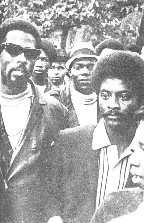 Eldridge Cleaver and his lieutenant in the prison movement and later ...