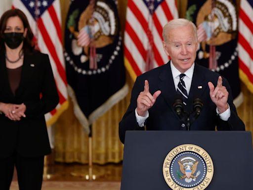 Desperate Biden Spikes the Football on the 10-Yard Line