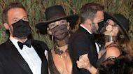 Jennifer Lopez and Ben Affleck Share a Masked Kiss at Met Gala 2021